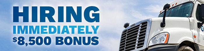 Regional CDL Truck Drivers get $8,500 Extra Cash + Home Weekly! - Washington, DC - Celadon Trucking