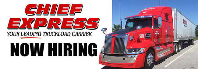 OTR Class A CDL Company Drivers - Home Weekly - Salisbury, NC - Chief Express