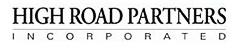Director of Recruiting - North Carolina - High Road Partners, Inc.