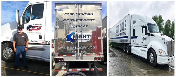 CDL A Dedicated Drivers - 1300 Per Week Plus Benefits - Portland, OR - KNIGHT TRANSPORT LLC