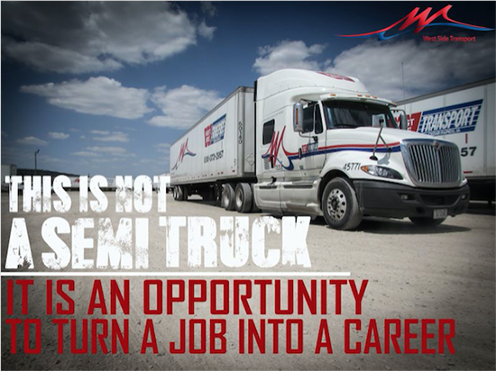 Regional 10-4 Class A Truck Driver - Mountain Top, PA - West Side Transport