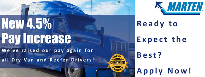 Dedicated CDL A Truck Drivers - Avg. 65 CPM! - Salisbury, NC - Marten Transport