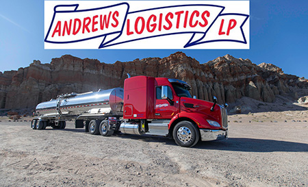 Regional Class A CDL Tanker Driver - Up To $95K Annually - Houston, TX - Andrews Logistics