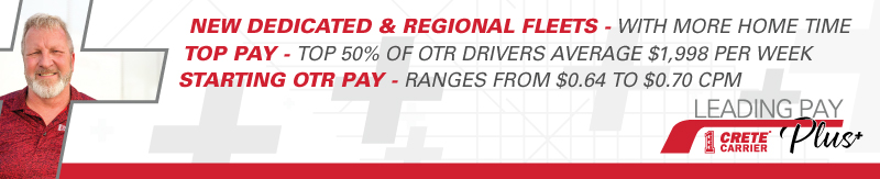 CDL-A Driver - Dedicated CDL A TX to TN Loop, Home Weekends. Top 50% average $77,000 - Tennessee - Crete Carrier Corporation