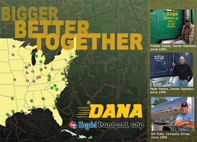 CDL-A Truck Driver: MI Tanker Owner Operators and Co Drivers Needed - Rochester Hills, MI - Dana Companies