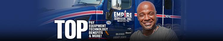 Regional Truck Driver - CDL A - Beaumont, TX - Empire Express
