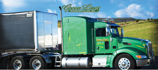 Class A Flatbed Driver -Conestoga! Now Offering GAP Pay!!!  Regional 75K - Grand Rapids, MI - Green Lines Transportation, Inc.