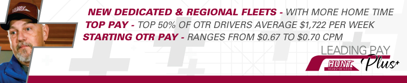 CDL A National OTR flatbed driver jobs out of Iowa-1 yr. experience - Des Moines, IA - Hunt Transportation