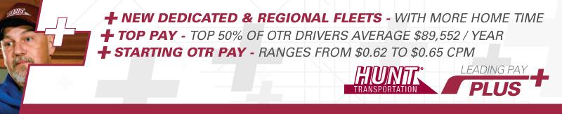 OTR CDL A flatbed driver jobs out of D.C. - Washington, DC - Hunt Transportation