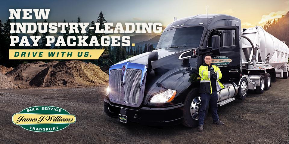$5K Sign-On Bonus - TANKER Regional CDL Drivers Earn up to $1800/week! - Tacoma, WA - James J. Williams
