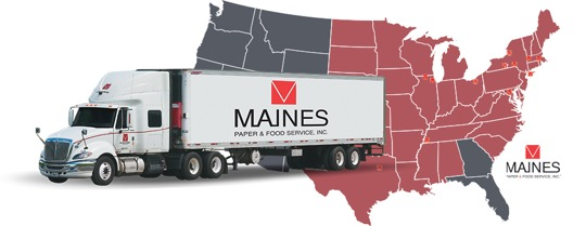 Delivery Driver CDL A-Savage, MD - Tuesday/Fridays/Saturdays Off Weekly! - Savage, MD - Maines Paper & Food Service, Inc.