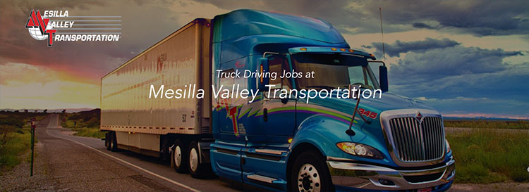 Regional CDL Truck Driving Jobs Clint - Clint, TX - Mesilla Valley Transportation