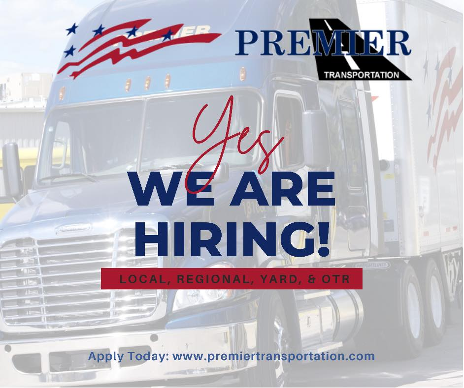 Local Class A CDL Drivers - Home Daily - $20 per hour - 1st Shift - White House, TN - Premier Transportation