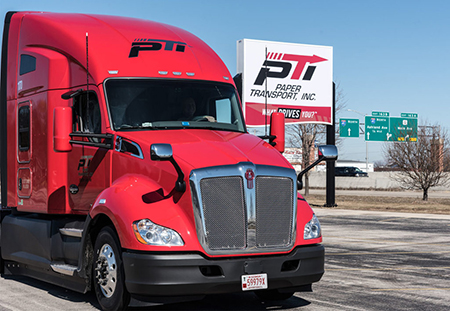 CDL A Dedicated Regional Truck Driver: Pay Guarantee, Home Weekly, No-Touch - Minneapolis, MN - Paper Transport, Inc.