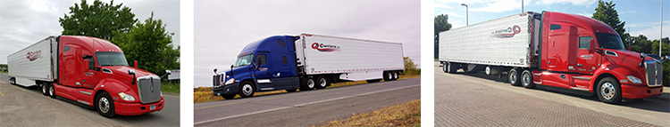 CDL A TRUCK DRIVERS 1,325 Average weekly PLUS 1K Sign On Bonus - Carmel, IN - Q Carriers