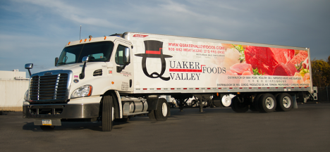 Local CDL Class A and B Reefer Drivers - Home Daily! Full Benefits! - Doylestown, PA - Q-Trucking / Quaker Valley Foods