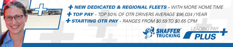 Top Pay! Top 50% of OTR drivers avg. $96,034 per year - Jersey City, NJ - Shaffer Trucking