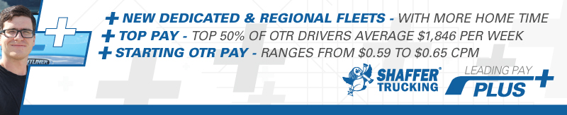 CDL-A Driver - Midwest Region, Home Weekends. Top 50% average $79,000 - Columbus, OH - Shaffer Trucking