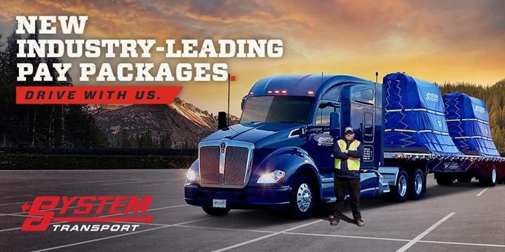 $5K Sign-On Bonus - Flatbed Regional CDL Drivers - Earn up to $1700/week! - Seattle, WA - System Transport