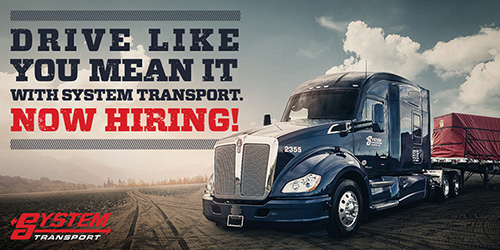Class A Experienced OTR Drivers - Solo or Team - Denver, CO - System Transport